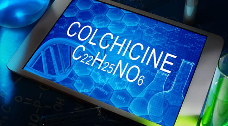 Влияние применения колхицина непосредственно перед проведением чрескожного коронарного вмешательства: рандомизированное исследование COLCHICINE-PCI